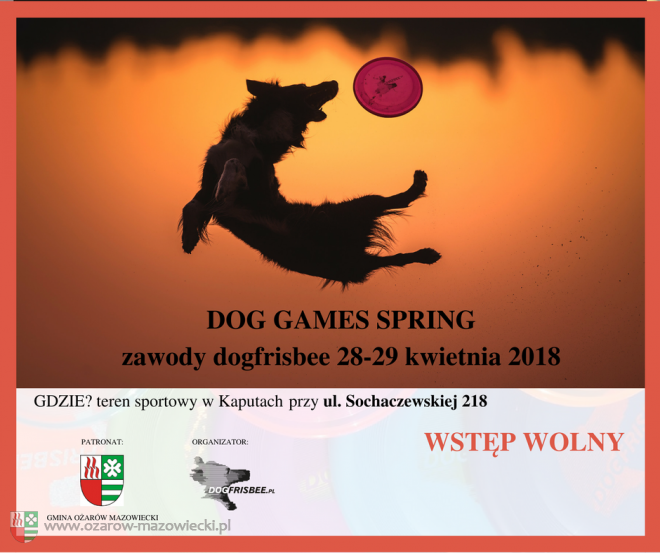 Dog Games Spring Kaputy 2018